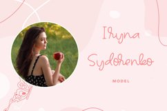 Talleen - Cute Calligraphy Font Product Image 6