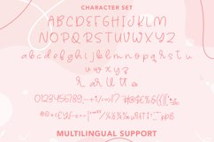 Talleen - Cute Calligraphy Font Product Image 4
