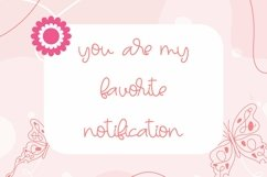 Web Font Talleen - Cute Calligraphy Font Product Image 2