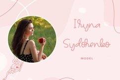 Web Font Talleen - Cute Calligraphy Font Product Image 4