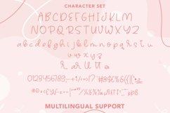 Web Font Talleen - Cute Calligraphy Font Product Image 3
