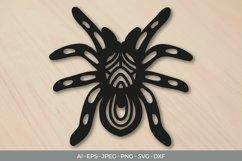Tarantula Papercut SVG Product Image 1