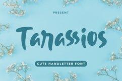 Tarassios - Cute Handletter Font Product Image 1