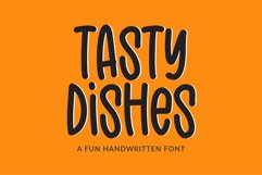 Tasty Dishes - a tall display font Product Image 1