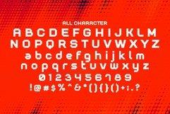 Web Font Techano Product Image 5