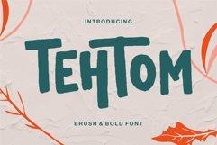 Web Font Tehtom - Brush Bold Font Product Image 1