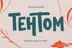 Tehtom - Brush Bold Font Product Image 1