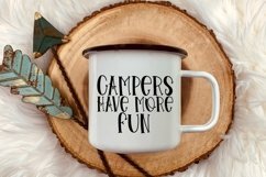 Web Font Tent Camping - A Quirky Handlettered Font Product Image 2