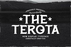 Web Font Terota Product Image 1