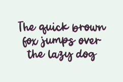BESTIES Bold Script Font Product Image 3