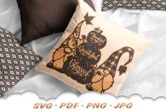 Fall Pumpkin Garden Gnome SVG Cut Files Product Image 5