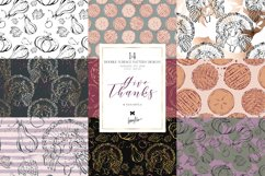 Thanksgiving Doodle Patterns Product Image 1
