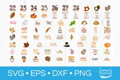 73 Designs! Thanksgiving SVG Bundle Silhouette and Cricut Product Image 2