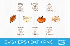 73 Designs! Thanksgiving SVG Bundle Silhouette and Cricut Product Image 4