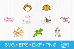 73 Designs! Thanksgiving SVG Bundle Silhouette and Cricut Product Image 5