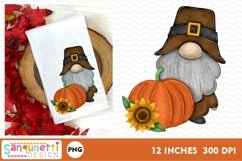 Thanksgiving gnome fall PNG Sublimation Product Image 1