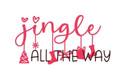 That Christmas - a two style Christmas hanging ornament font Product Image 5