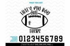 Football SVG, Football Mom SVG, Football Shirt SVG Product Image 2