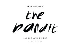 The Bandit Font Product Image 1