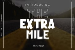THE EXTRA MILE Product Image 1