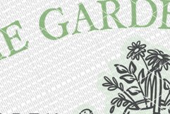 The Garden Shed SVG | Farmhouse Sign | DXF and more Product Image 2