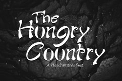 The Hungry Country Font Product Image 1