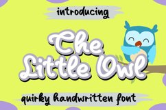 The Little Owl Product Image 1