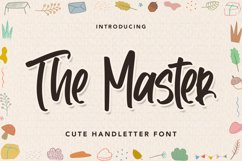 TheMaster - Cute Handletter Font Product Image 1