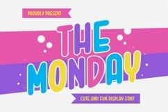 Web Font The Monday Font Product Image 1