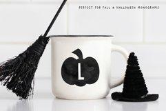 Web Font The Patch - Fun Pumpkin Monogram Font Product Image 4