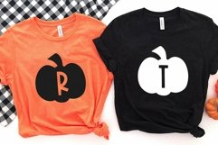 Web Font The Patch - Fun Pumpkin Monogram Font Product Image 5