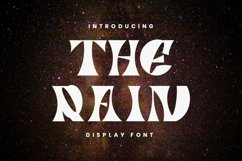 Web Font The Rain Product Image 1