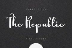 Web Font The Republic Product Image 1