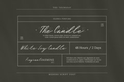 Web Font The Thursday Font Product Image 3