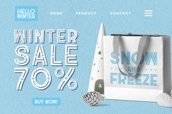 Web Font The Winter Product Image 3