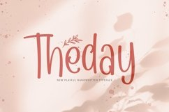 Web Font Theday Product Image 1