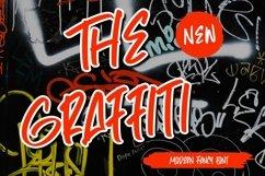 Web Font TheGraffiti - Modern Fancy Font Product Image 1
