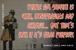 Web Font TheGraffiti - Modern Fancy Font Product Image 4