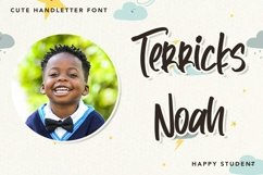 Web Font TheMaster - Cute Handletter Font Product Image 3