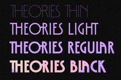 Theories - Modern Sans Serif Font Product Image 6