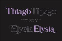 Thiago & Elysia Font Product Image 1