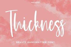 Web Font Thickness - Beauty Handwritten Font Product Image 1