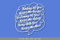 Thinking of You SVG Product Image 2