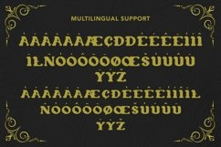Web Font Thrones - Modern Gothic Font Product Image 3