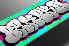 Graffiti fonts   Throws Product Image 5