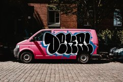 Graffiti fonts   Throws Product Image 6
