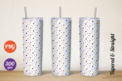 20 oz skinny Tumbler sublimation PNG design straight tapered Product Image 1