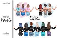 Best Friends Jackets Clipart, Custom Besties Soul Sisters Product Image 5