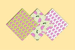 Melon Scrapbook Paper Pack - Summer Paper - Summer Patterns Product Image 2