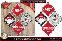 Santa Claus is coming to town, I'll be gnome for Christmas, Ornament SVG